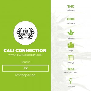 22 (Cali Connection) - The Cannabis Seedbank