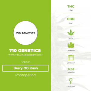Berry OG Kush (710 Genetics) - The Cannabis Seedbank