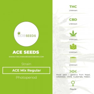 ACE Mix Regular (Ace Seeds) - The Cannabis Seedbank