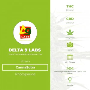 CannaSutra Regular (Delta 9 Labs) - The Cannabis Seedbank