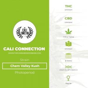 Chem Valley Kush Regular (Cali Connection) - The Cannabis Seedbank