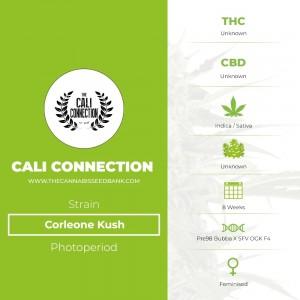 Corleone Kush (Cali Connection) - The Cannabis Seedbank