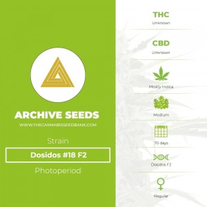 Dosidos #18 F2 Regular (Archive Seeds) - The Cannabis Seedbank
