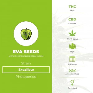 Excalibur (Eva Seeds) - The Cannabis Seedbank