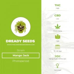 Mango Jack (Dready Seeds) - The Cannabis Seedbank