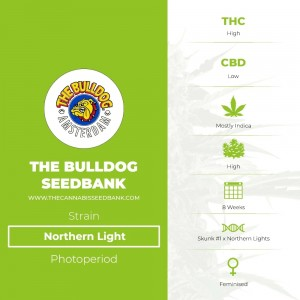Northern Light (The Bulldog Seedbank) - The Cannabis Seedbank