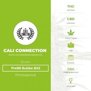 Pre-98 Bubba BX2 (Cali Connection) - The Cannabis Seedbank