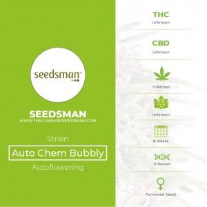 Auto Chem Bubbly Feminised Seedsman - Characteristics