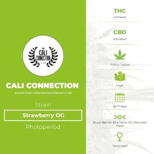 Strawberry OG (Cali Connection) - The Cannabis Seedbank